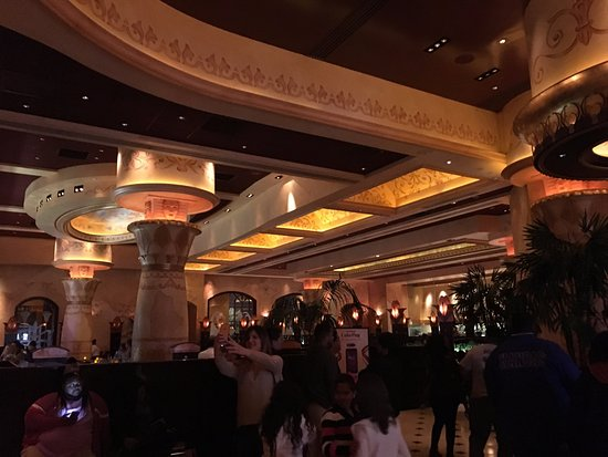 The Cheesecake Factory: View from the cheesecake counter