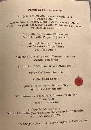Antipasti Di Natale Toscani.Menu Di Natale Foto Di Hotel Country Club Gragnano Tripadvisor