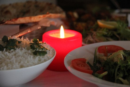 Candle light dinner rest is up to your imagination picture of rajas indian restaurant bar candle light dinner rest is up to your imagination forumfinder Image collections
