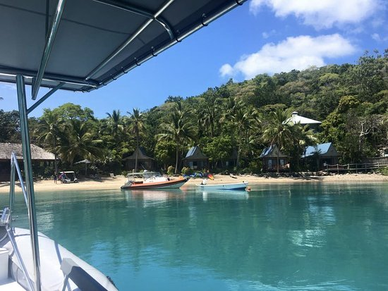 Hamilton Island, ออสเตรเลีย: Arriving at Long Islands Palm Bay Resort