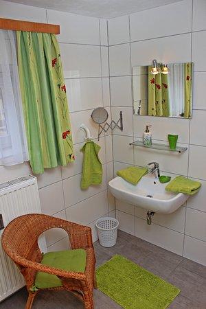 Gastehaus Landgraf: Bad Zimmer Grün