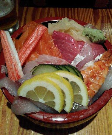 Yamayu Santatsu : Le chirashi. Pas moyen d'avoir faim après !