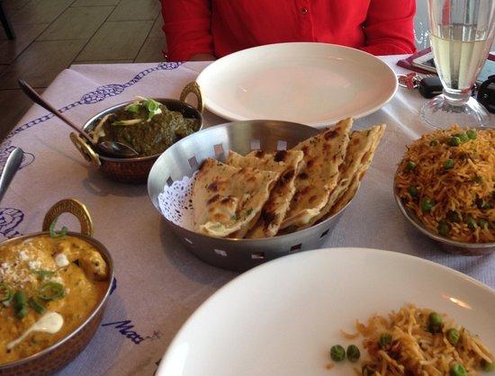 Genuinely tasty Indian food