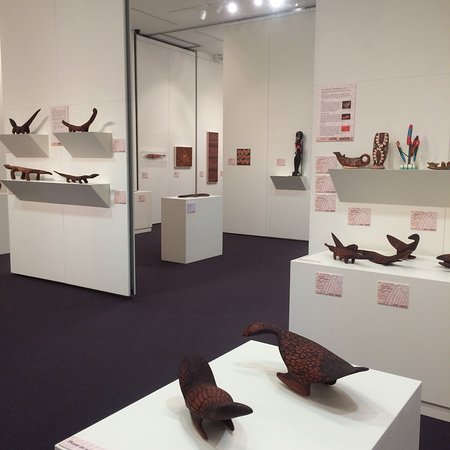 One of the outstanding travelling exhibitions hosted by Cowra Regional Art Gallery
