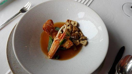 Hotel Restaurant Regis & Jacques Marcon : Langoustines