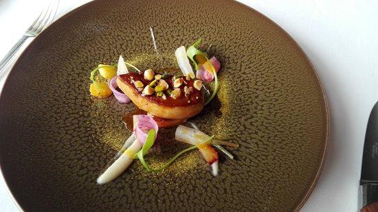 Hotel Restaurant Regis & Jacques Marcon : Foie gras