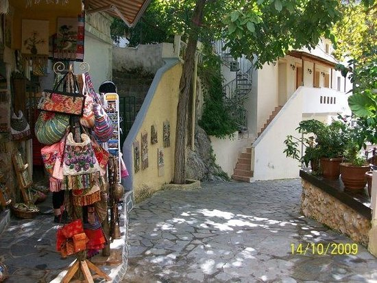 Village lane Spili Crete