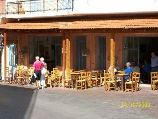 Traditional Kafeneons Spili Crete