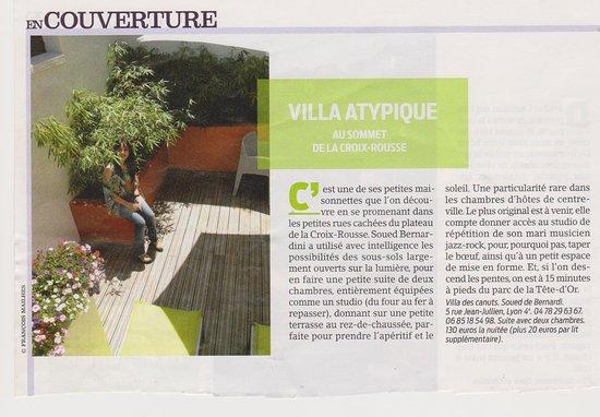 Villa Des Canuts: Presse