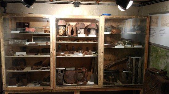Items inside museom