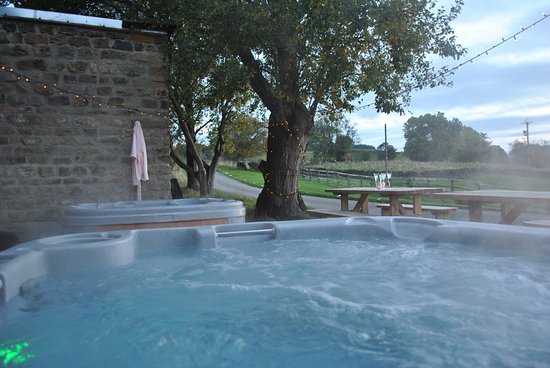 While enjoying your weekend with us enjoy the luxury of hot tubs