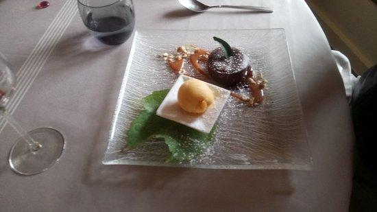 Auberge De L'ecole : un exemple de dessert