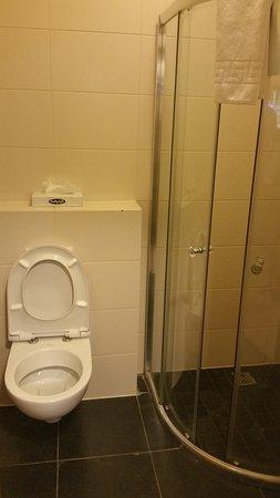 Borgarnes, Islandia: Bathroom View