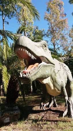 T rex bild fr n il parco dei dinosauri castellana for T rex location