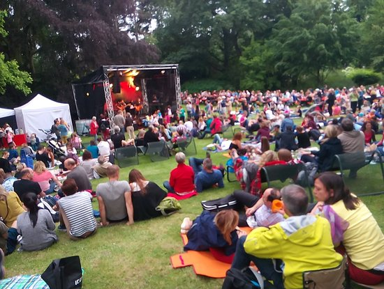 live concert at lichterfest picture of palmengarten frankfurt tripadvisor. Black Bedroom Furniture Sets. Home Design Ideas