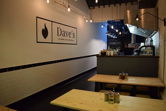 Photo of Italian Restaurant Dave's Wood-Fired Pizza at George's Street Arcade, South Great Georges Street, D2., Dublin D02 DH79, Ireland