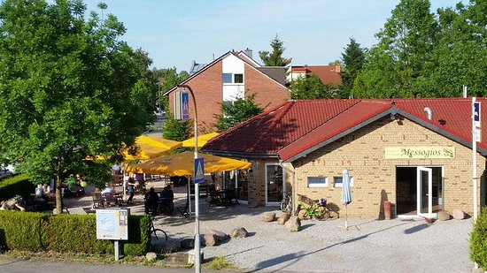 Julich, Duitsland: Restaurant Messogios
