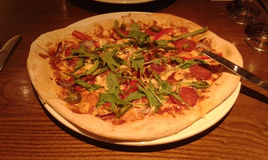 Strood, UK: Pizza maison