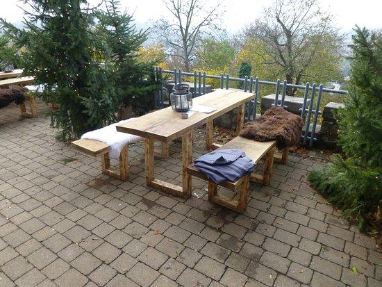 Terrassenbestuhlung Bild Von Anders Auf Dem Turmberg Karlsruhe
