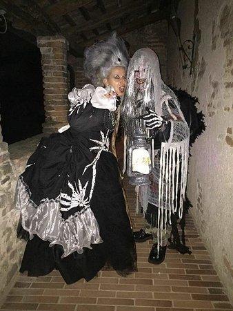 Lozzo Atestino, Italië: atmosfera da halloween