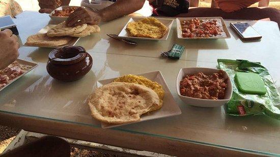 Marine Garden Camp: The lovely breakfast