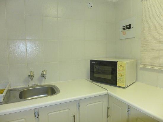Jorn's Guest House: Kitchen