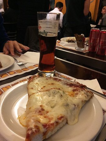 Incredible pizza and everything. You cannot ask for more. The waiters were fast, the prices and the quality were exc