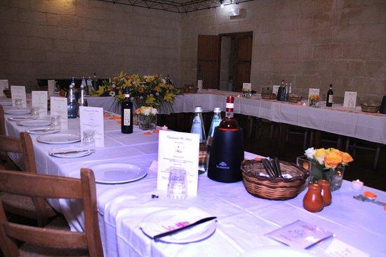 1743 Razzett L Antik Table Set Up For Wedding Dinner