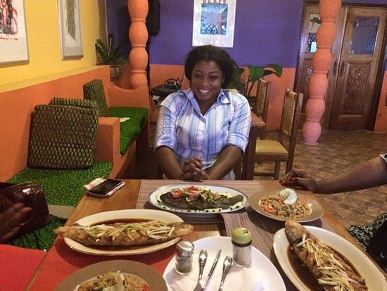 Greater Accra, Ghana: Abajo Culture + Art Cafe