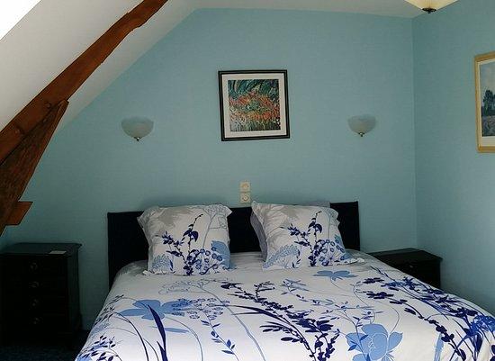 Jarze, Francia: Bedroom