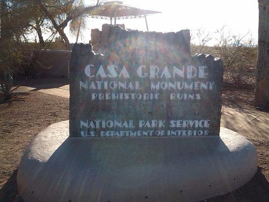 Coolidge, AZ: sign