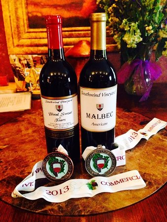 Southwind Vineyard & Winery: Prize winners
