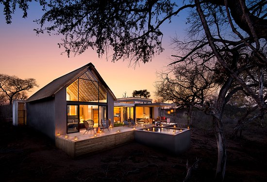 Lion Sands Ivory Lodge : The exterior of Jacana Suite