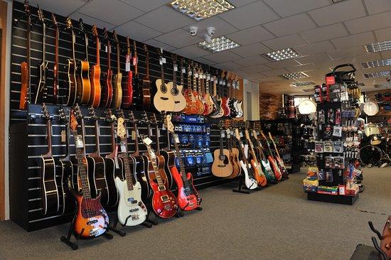 Hogan Music: Guitar Wall - Ground Floor