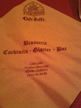 Cafe Leffe Lourdes : Cafè Leffe Brasserie