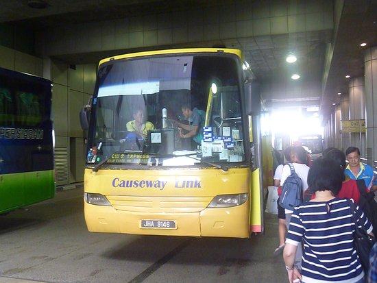 Naik bus Kuala Lumpur ke Legoland - Ulasan Causeway Link