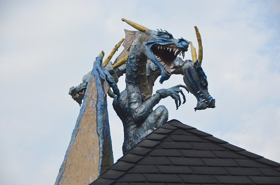 Carbondale, IL: dragons on the roof