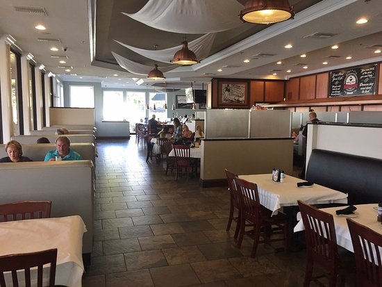 Main Dining Room Harborside Restaurant Winter Haven Fl