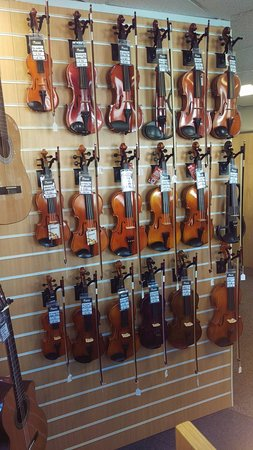 Hogan Music: Violins - 1st Floor