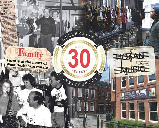 Hogan Music: Celebrated our 30th Anniversary in May 2016