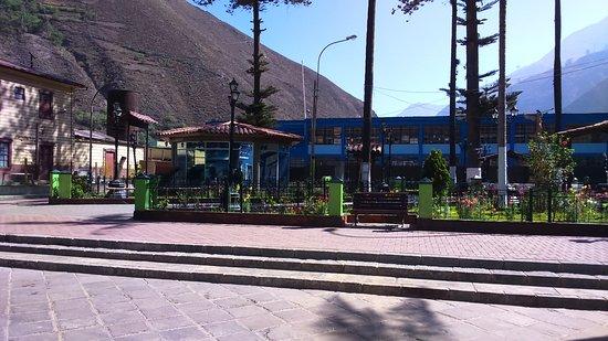 Plaza en Matucana