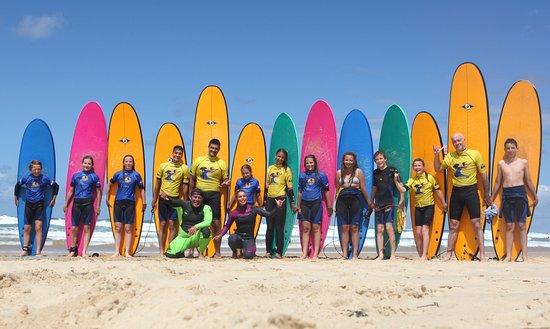 Ecole de surf La Garluche