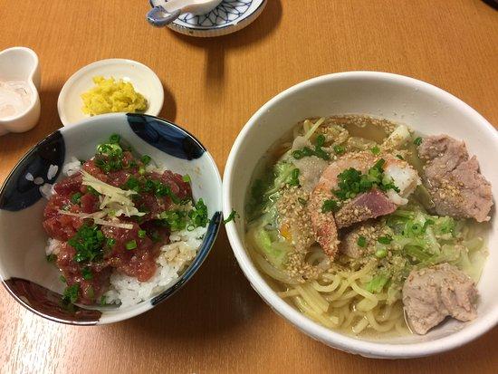 Tsukumi, Japan: ランチセット