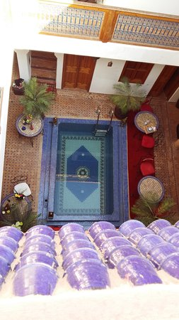 Riad Kalinka Lotus: Vue du toit terrasse terrasse