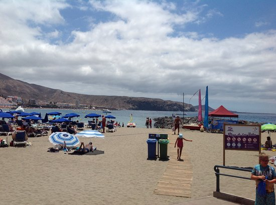 Beach time - Picture of Marine Walks, Port of Los Cristianos, Los Cristianos ...
