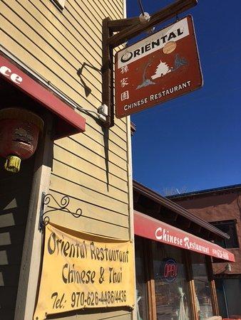 Ridgway, CO: Restaurant fron on Sherman Street