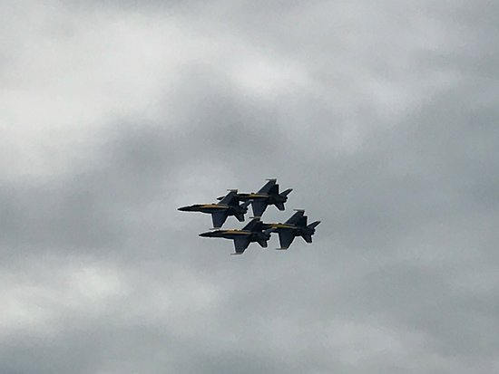 Pensacola Naval Air Station: Blue Angels in Formation