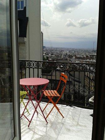 Schone Aussicht Picture Of Hotel Roma Sacre Coeur Paris