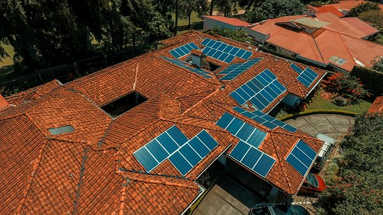 Terrazas de Golf Boutique Hotel: Solar powered