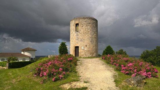 Le 45ème Parallèle Nord et Le coteau de Montalon.